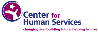 Center for Human Services Retina Logo