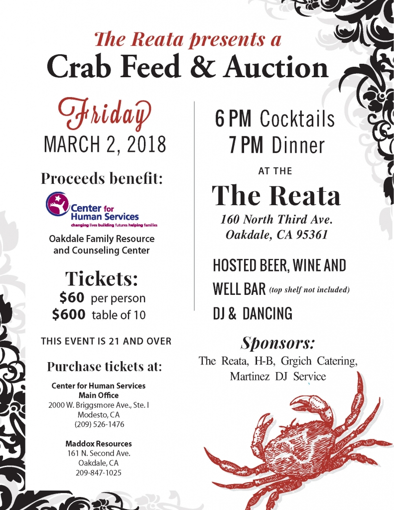 Crab Feed & Auction