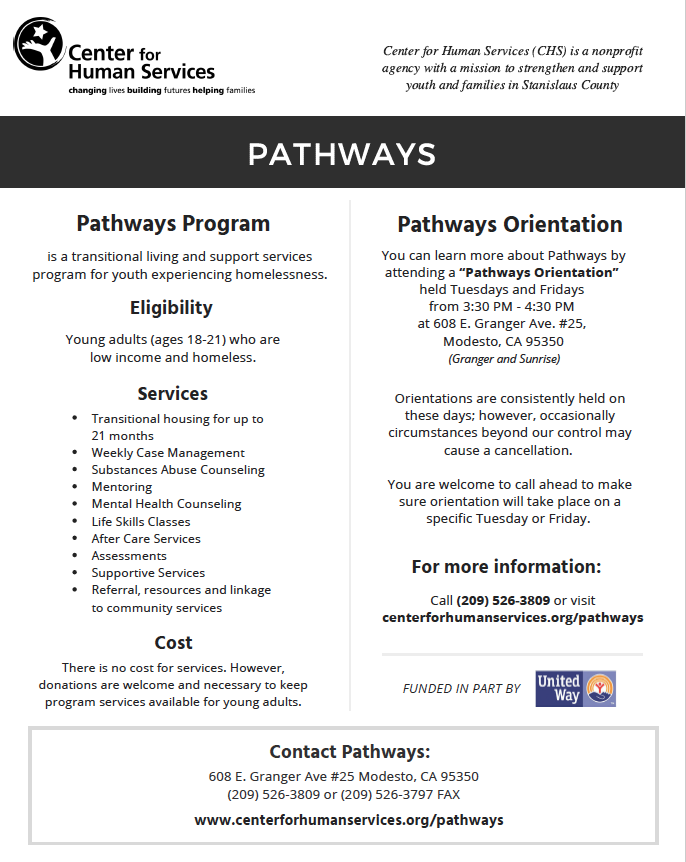 Pathways Center For Human Services